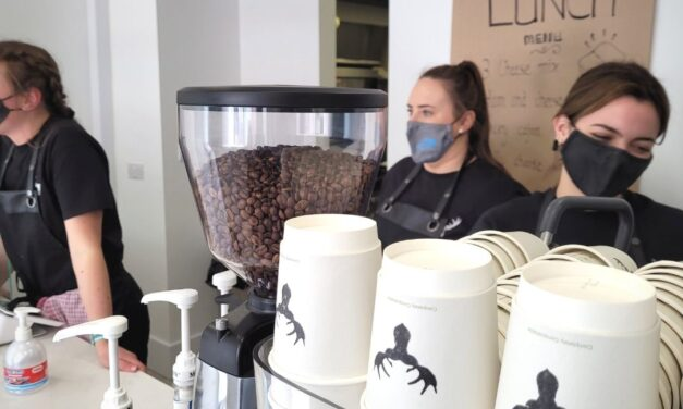 Zach Tuohy And Murry Rogers Team Up To Open The Wandering Elk Coffee Shop In Portlaoise